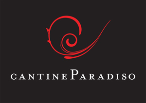 cantine paradiso logo vettoriale